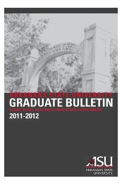 AP 11-12 G Bulletin copy.indd - Arkansas State University