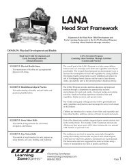 Head Start Accreditation - Learning Zone Express
