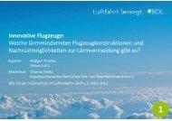 Innovative Flugzeuge: Welche lärmmindernden Flugzeugkonstruktionen ...