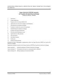 Lignes directrices OSPAR remaniées sur la gestion des matériaux ...