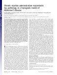 Alzheimer's disease Chronic nicotine administration exacerbates tau ... - Page 2