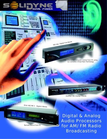 Digital & Analog Audio Processors for AM/FM Radio ... - Solidyne