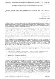 Medios y nuevas tecnologías para la integración escolar , Revista ...