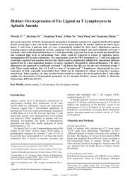 Full Text - Cellular & Molecular Immunology
