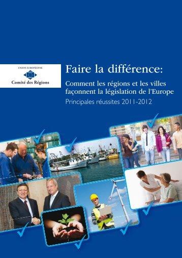 Principales réussites 2011 - Europa