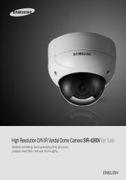 High Resolution D/N IR Vandal Dome Camera SIR ... - Dynamic CCTV