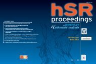 Full HSR proceedings Vol. 2 - N. 1 2010 in PDF
