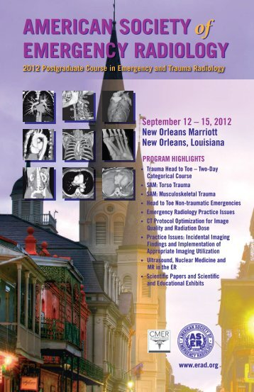 ASER 23rd Annual Scientific Meeting Brochure - American Society ...