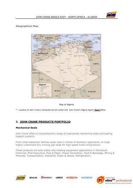 Geographical Map JOHN CRA