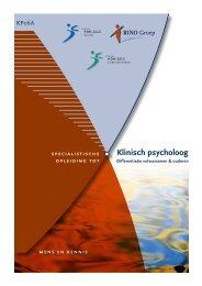 Klinisch psycholoog - RINO Groep