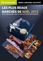 les plus beaux marchés de noël 2012 - Verdié Voyages