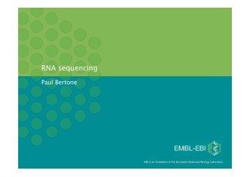 RNA sequencing - Bioconductor