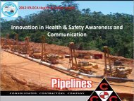 Innovation in Health & Safety Awareness and Communication - Iploca