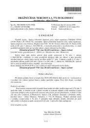 DRÁŽNÍ ÚěAD, NERUDOVA 1, 772 58 OLOMOUC - Drážní úřad