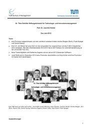2012 - Dr. Theo Schöller-Stiftungslehrstuhl für Technologie
