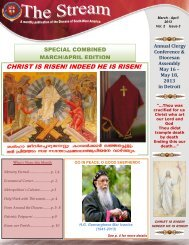 March April Month Edition - Diocese Of South-West America