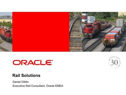Oracle Railway Presentation - UIC