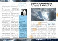 Vorwort Entwicklung eines astronomischen Verfahrens zur Prognose