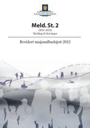 Revidert nasjonalbudsjett 2012 - Statsbudsjettet