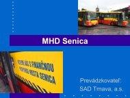 Vyťaženosť MHD Senica - štatistika SAD 656.15 Kb