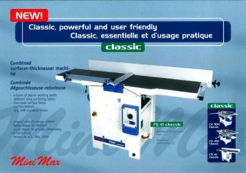 ' Classic. essentielle et d'usage pratique - The Saw Centre