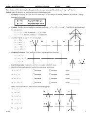 Quadratic Equations - Consecutive Integer Problems
