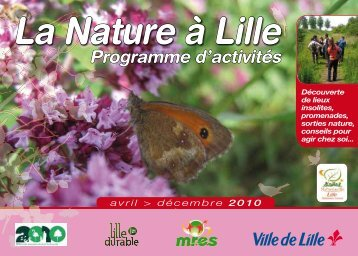 Programme d'activités 2010 - Mres