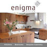Workshop and showroom - Enigma Design