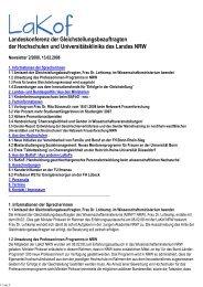 Newsletter Nr. 02/2008 - LaKof NRW