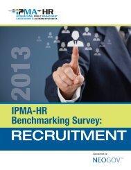 RECRUITMENT - International Personnel Management Association