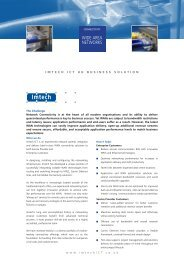 WIDE AREA NETWORKS - Imtech