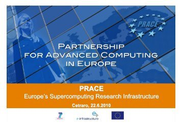PRACE: Europe's Supercomputing Research Infrastructure