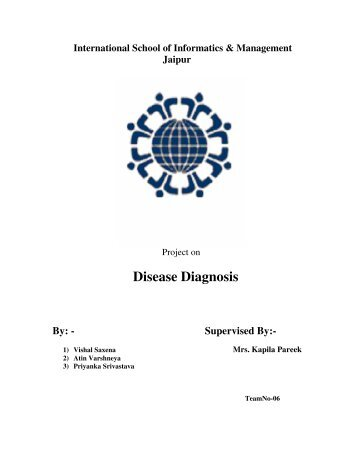 Project-Disease Diagnosis System