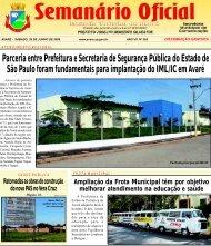 Parceria entre Prefeitura e Secretaria de Segurança Pública do ...