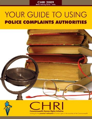 Your Guide to Using Police Complaints Authorities - Commonwealth ...