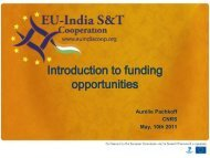 Introduction to Funding Opportunities,Aurélie Pachkoff (CNRS)