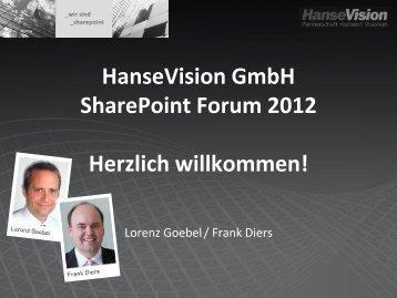 Begrüßung - HanseVision Blog