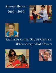 2009-2010 Annual Report - Kennedy Child Study Center