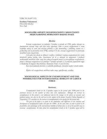 Rezime Summary - Komunikacija
