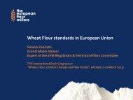 Wheat Flour standards in European Union