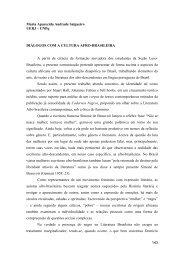 Diálogos com a cultura afro-brasileira - IBERYSTYKA UW