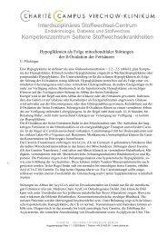 Mitochondrial_Text - Interdisziplinäres Stoffwechsel-Centrum