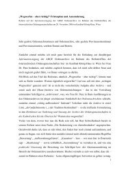 Manuskript – E n t w u r f: - Ordensarchive Österreichs