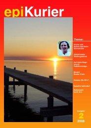 2 2008 epiKurier Themen - beta Institut