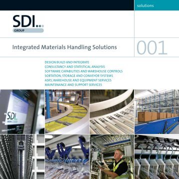 Integrated Materials Handling Solutions - Sdi Group UK