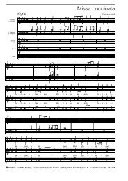 Notascript MISSABUCCINATA