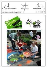 Informationen / Veranstaltungen Zum Guten Hirten - Sankt-antonius ...