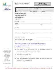 ENSEIGNE DEMANDE DE PERMIS - St-Adolphe d'Howard