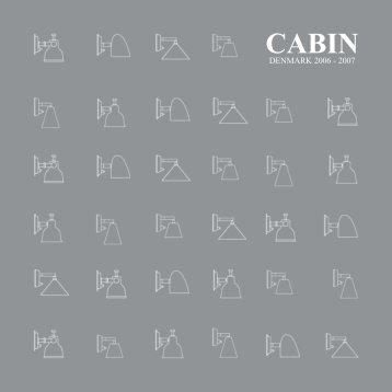 cabin catalogue 2006 - Cabin Denmark