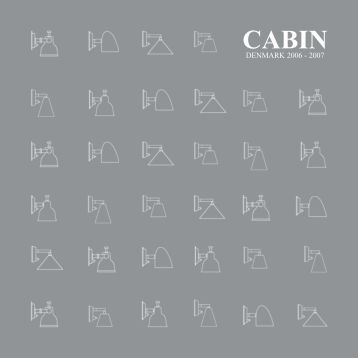 cabin catalogue 2006 - Cabin Denmark
